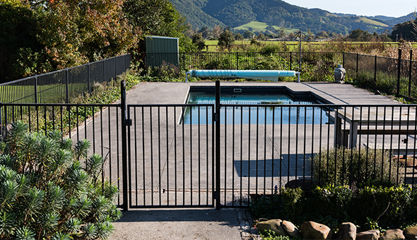 Aluminium Pool Fence Gate