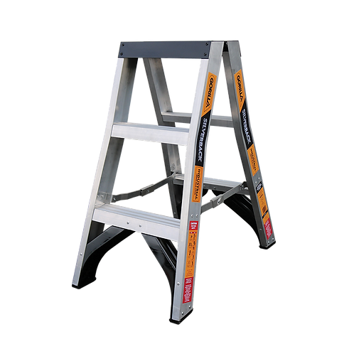 3 Step Double Sided Ladder