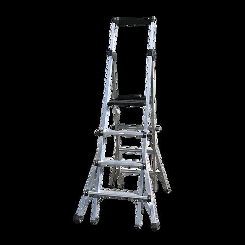 4-6 Step Adjustable Platform Ladder