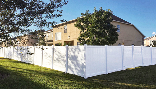 Full Privacy Fence web