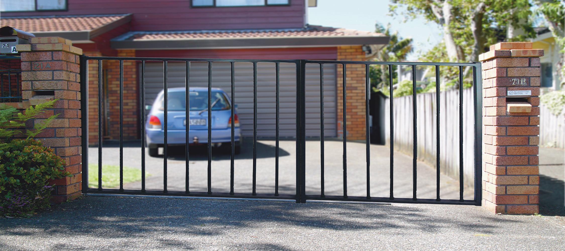 Driveway Double Gate 2250x1000