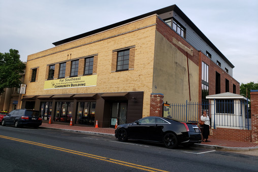 2004 Martin Luther King Jr. Ave, SE: FSFSC Headquarters and Busboys & Poets, 2019