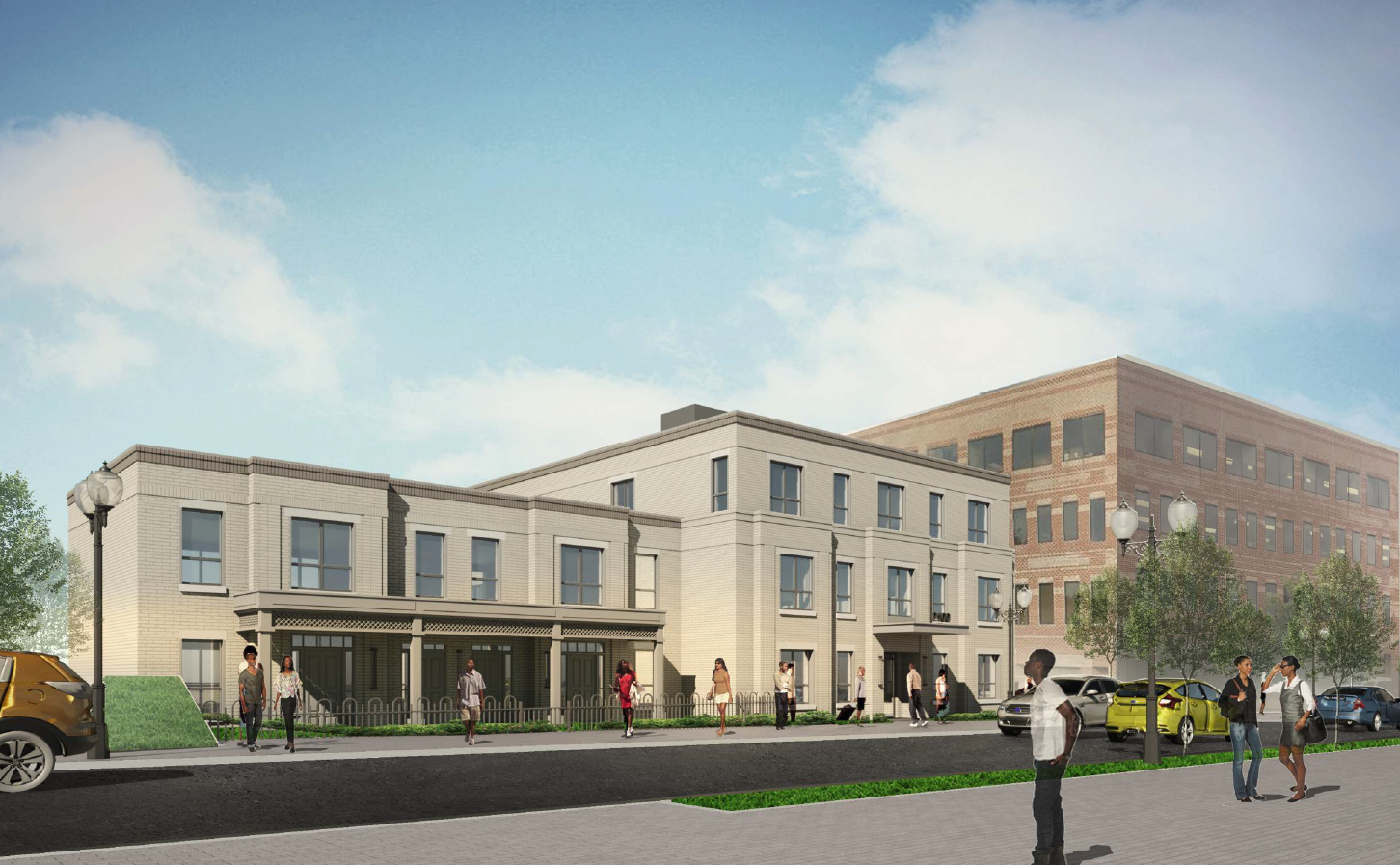 2100 Martin Luther King Jr. Ave., SE: Final rendering after HAPS comments, 2018