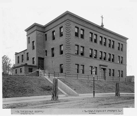 1409 V Street SE: St. Theresa's School, 1919