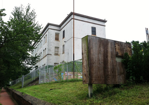 1409 V Street SE: Our Lady of Perpetual Help School (Abandoned), 2007