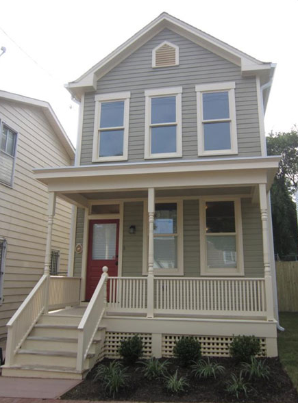 14th St SE: Home rehabilitated by The L'Enfant Trust