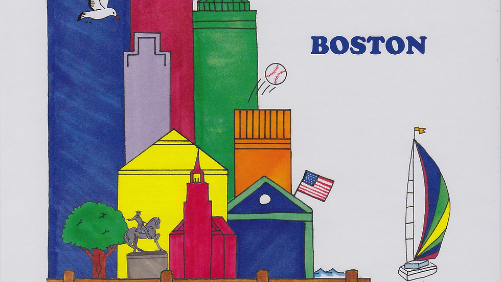 Among The Buildings That Touch The Sky - Boston
