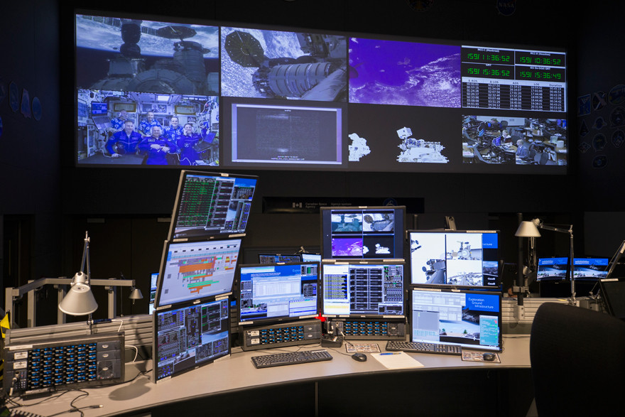 The Robotics Mission Control Centre of the Canadian Space Agency (CSA) is located at CSA headquarters in Saint-Hubert, Quebec.