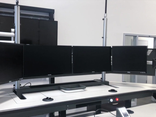 Timelapse: Control Room Console Installation - Transit C-300