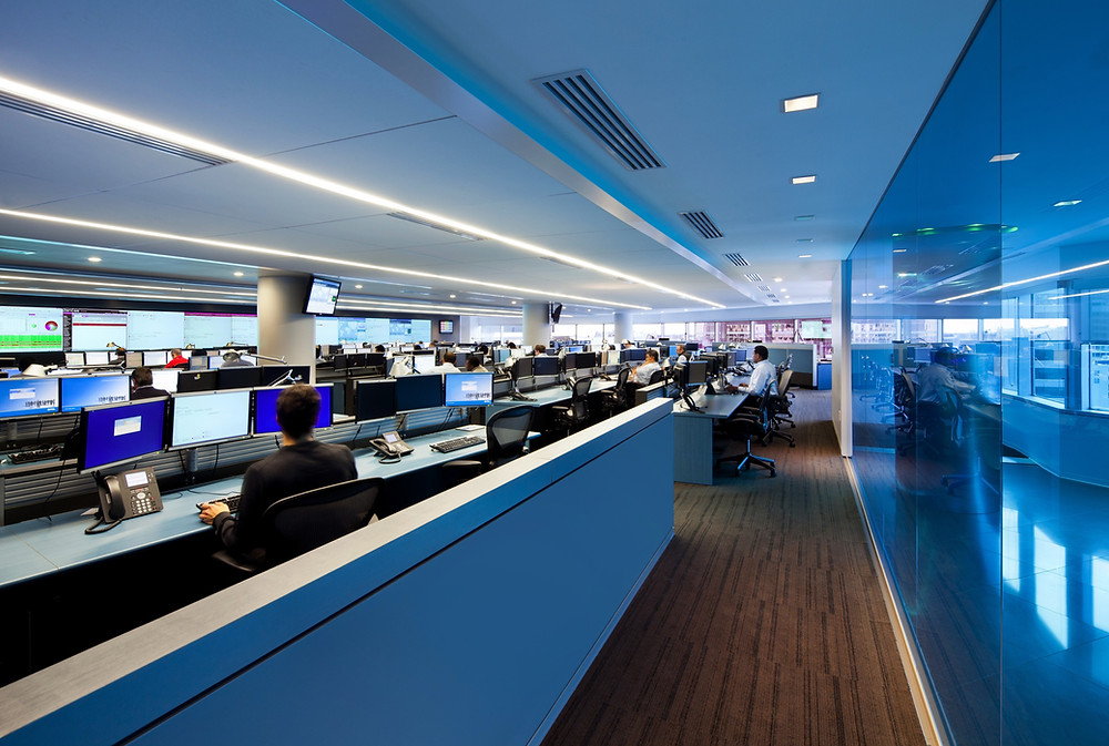 air traffic control center by sustema