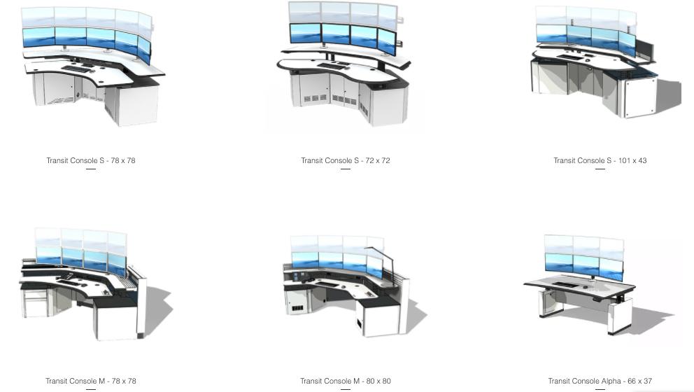 dispatch console workstation models