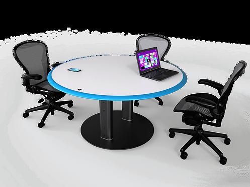 Circular Fixed Meeting Table