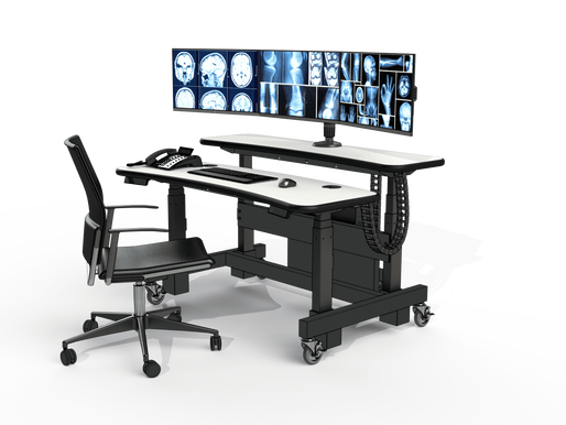 The Best Medical Desks & Radiology Workstations - Made in North-America