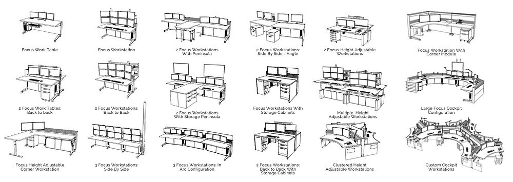 command center furniture design