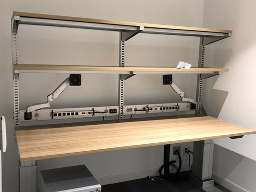 Height-Adjustable Industrial Workbenches for Manufacturing