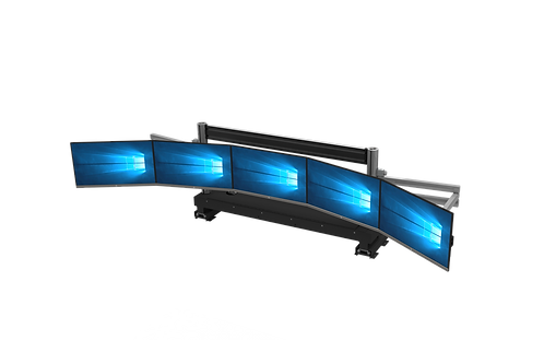 Electric Height-Adjustable Monitor Array