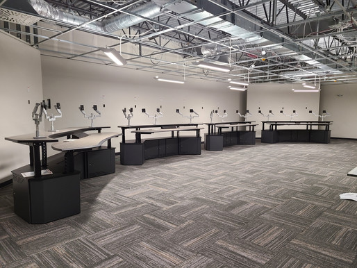 Utility, Power Plant Control Room Consoles & Furniture (Pictures)