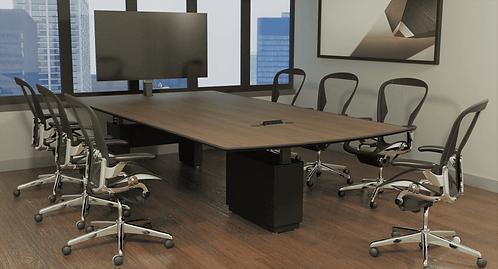 TV/AV Adjustable Meeting Table