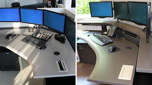 single surface vs dual surface console.j