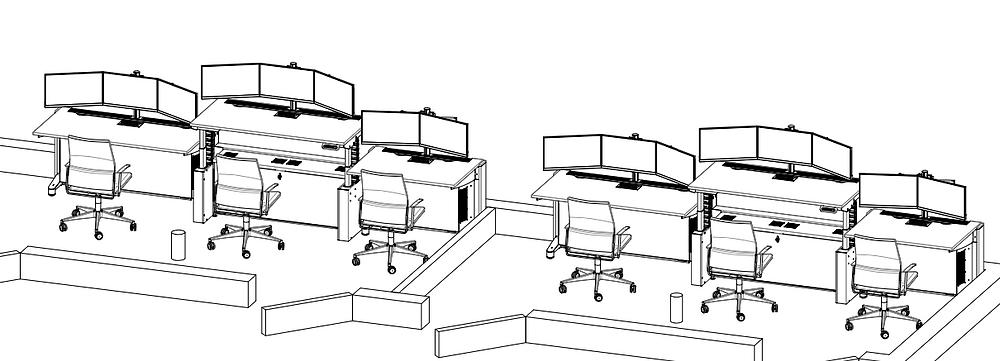 control room design services