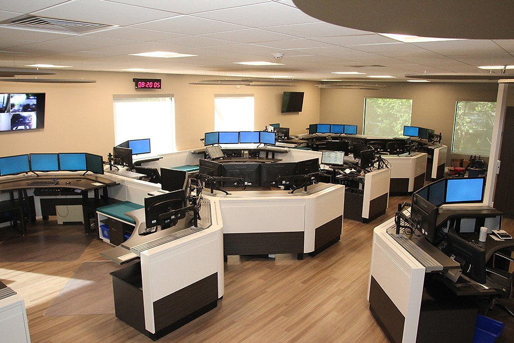 911 Dispatch and PSAP facility installation