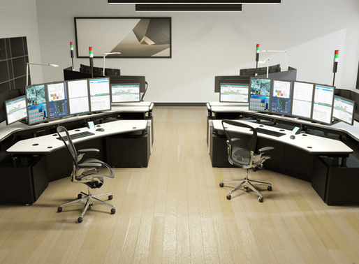 911 Dispatch Workstations | PSAP Furniture