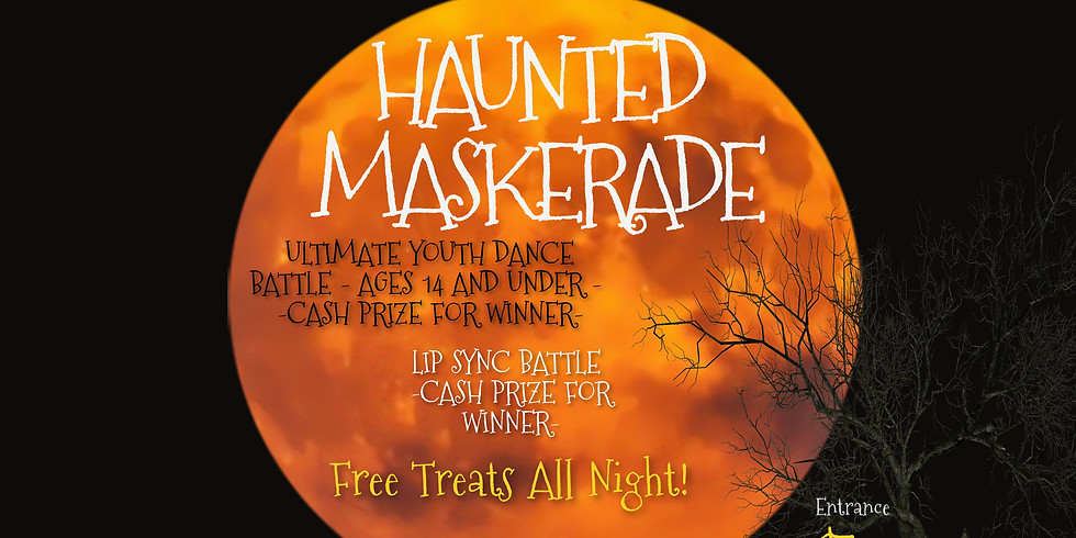 HAUNTED MASKERADE (YOUTH PARTY)