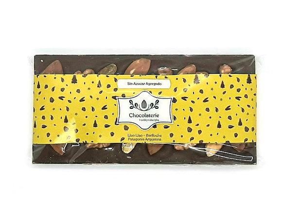 Tableta chocolate sin azucar