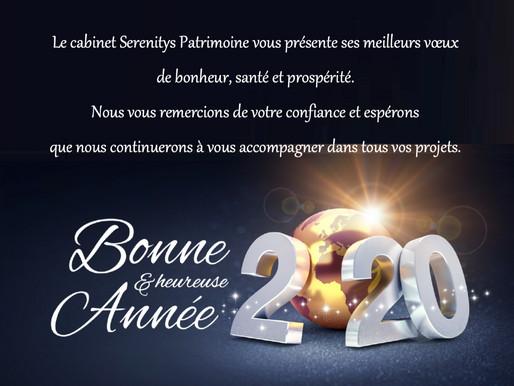 Meilleurs voeux 2020!