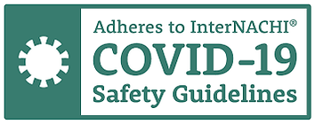 Adheres to internachi covid-19 safety pr