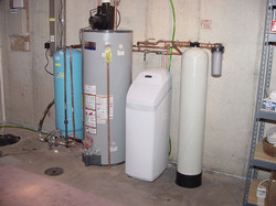 Granular activated Carbon Radon mitigation system for well water Home inspector