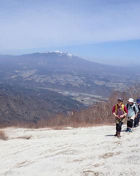 日向山登山ツアー