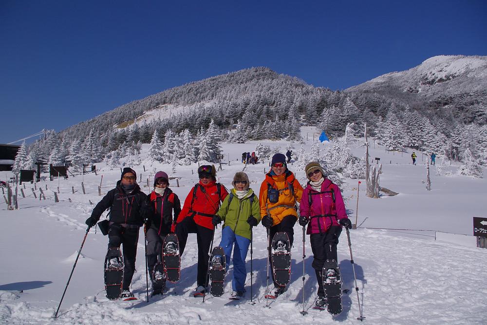 北八ヶ岳スノーシューツアー