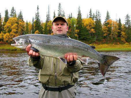 Salmon fishing in Russia. What I think of fishing salmon. Parts 1 - 2 - 3 and 4