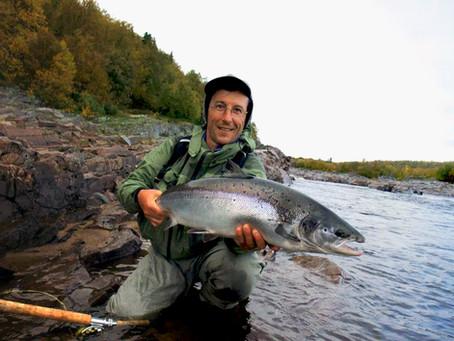 Chavanga - Strelna fishing notes, best salmon fishing weeks in Autumn