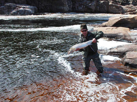Autumn salmon fishing in Russia. Kola peninsula. Little summary of Chavanga & Strelna fishing to