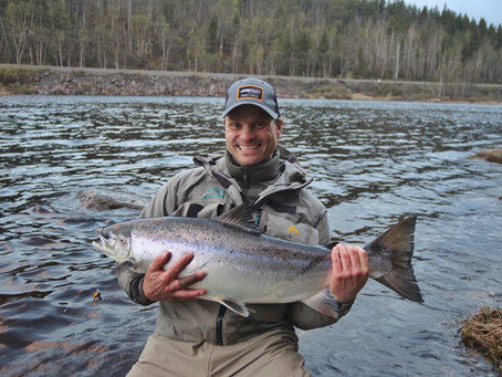 Kola river - why its worth a trip to this legendary river and test your limits. Big fish in Russia