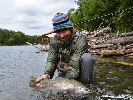 Wild Rainbow trout in Kamchatka among best fishing destinations these days...