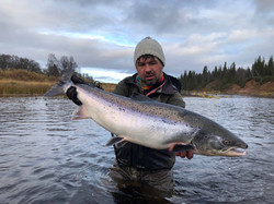 atlantic salmon fishing