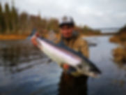 salmon in Russia