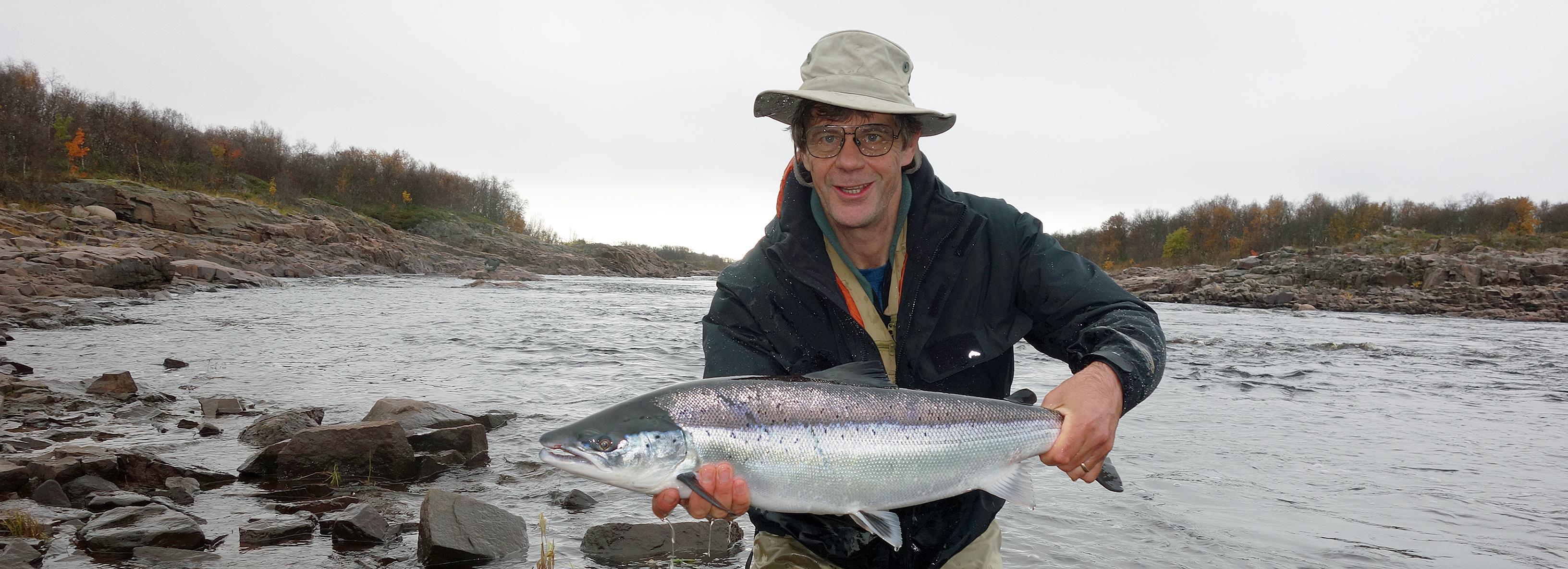 Chavanga fishing, salmon fishing