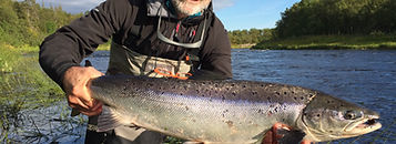 Chavanga river, chavanga fishing, salmon fishing