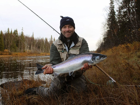Prime week of salmon fishing. October surprise!