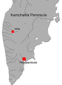 Icha river, Kamchatka fishing