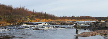 Chavanga river, chavanga fishing, salmon fishing Russia