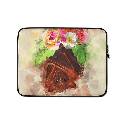 Laptop Sleeve Flower Bat