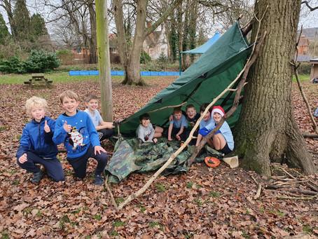 Upper Juniors Make Camps
