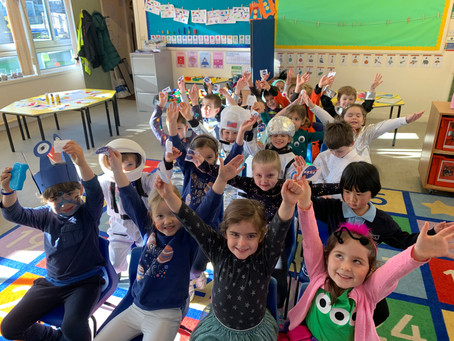 Welcome back to our wonderful Trinity children