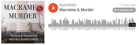 Macrame & Murder on SoundCloud