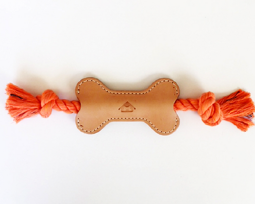 "5"" Veg Tan Play Time Tug Toy #Orange Crush"
